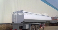 Oil Tank semi trailer 54000L Tanker with 6 compartments tractor trailer chassis