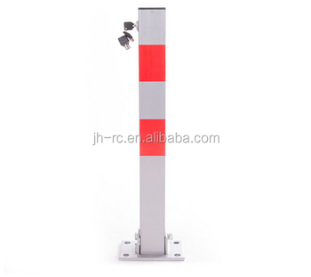 Runchn Tools Popular Square Tube Foldable Parking Barrier Lock