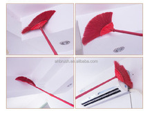 PP handle PET bristles brush for ceiling and floor