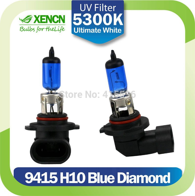 XENCN <strong>H10</strong> 9145 12V 42W PY20D 5300K Xenon Look <strong>Blue</strong> Diamond Light Halogen Car <strong>Bulbs</strong> Replace Upgrade Fog Lamp