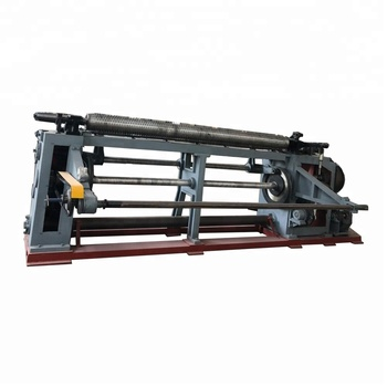 reverse twisted hexagonal wire machine