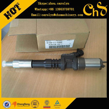 Jining Genuine excavator spare parts PC450-7 injector 6156-11-3300 OEM parts !!