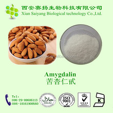 High Quality Prunus Armeniaca Extract Amygdalin vitamin B17 98%