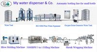 Pure/Mineral drinking water treatment plant