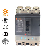 Electrical Appliances Isolator NS 3 Pole MCCB Types 100 Amp Breakers Circuit