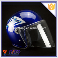 High quality motorcycle blue stylish full-face helmet