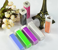 Power Bank 2600mah Portable Lipstick Powerbank Manual For 2600mah Power Banks Charger For iPhone 6 Battery Case