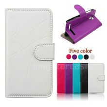 pu leather flip cover phone case for huawei ascend y530 c8813
