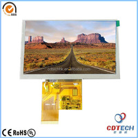 "High luminance 5"" tft lcd 800x480 50pin RGB interface without touch screen LCM"