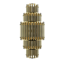 hot sale modern metal luxury hotel project luxury Matheny wall lamp