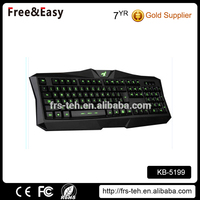 Good price can changing color LED computer keyboard
