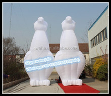 19ft/6m Customized Inflatable rabbit/Advertising Rabbit Animal/Party Rabbit Cartoon W10258