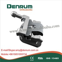 orthodontic materials/orthodontic mini self-ligating metal bracket