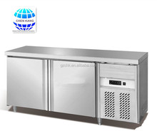 1800mm kitchen refrigerator /stainless steel counter top working table/meat chiller
