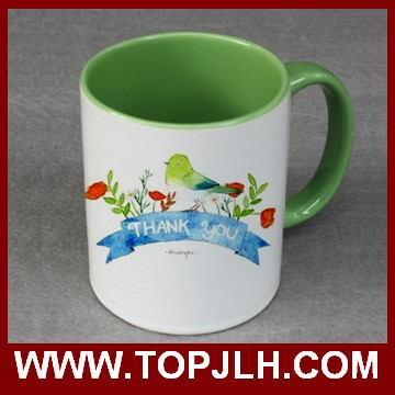 11oz Double Color Ceramic Coffee Mugs Sublimation Ceramic Mug