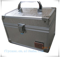 Lightweight & classic aluminum cosmetic beauty makeup travel case/makeup rolling beauty case