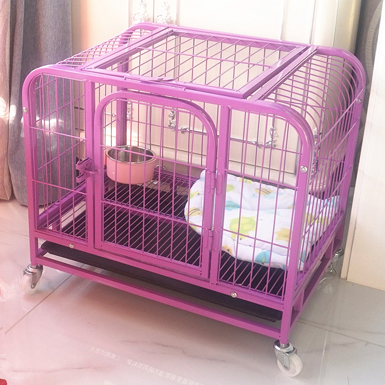 comfortable galvanized wire stackable dog kennel dog cages on sale