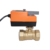 electric 24VAC/DC 0-10V proportioal fast motorized ball valve modulating valve