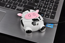 Computer Accessory High Quality Cartoon Models Mini USB Wired Mouse