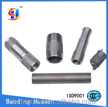 China supplier professional OEM stainless steel hollow threaded rod