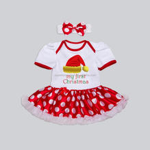 Baby Products Wholesale Baby Girls Cute Summer Rompers Dress Baby Clothing Sets Infant Birthday Gift
