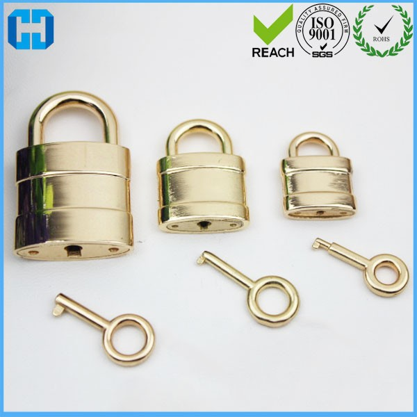 Free Shipping Small Silver Lock Small Collar Lock Mini Padlock