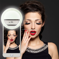 New Products Cellphone LED Selfie Ring Light 36 LED Universal Ring Mounted White.Usable for Video and Photo