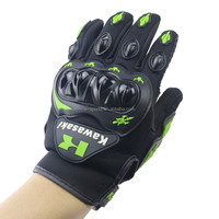 Kawasaki KTM style motorcycle gloves M,L,XL,XXL avialable professional motorbike gloves for streetbike dirt bikes cross bikes
