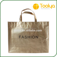 Custom metallic colour non-woven shopping bag