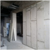 Insulated interior wall panel