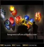 Colored Murano Glass Wall Art Decor