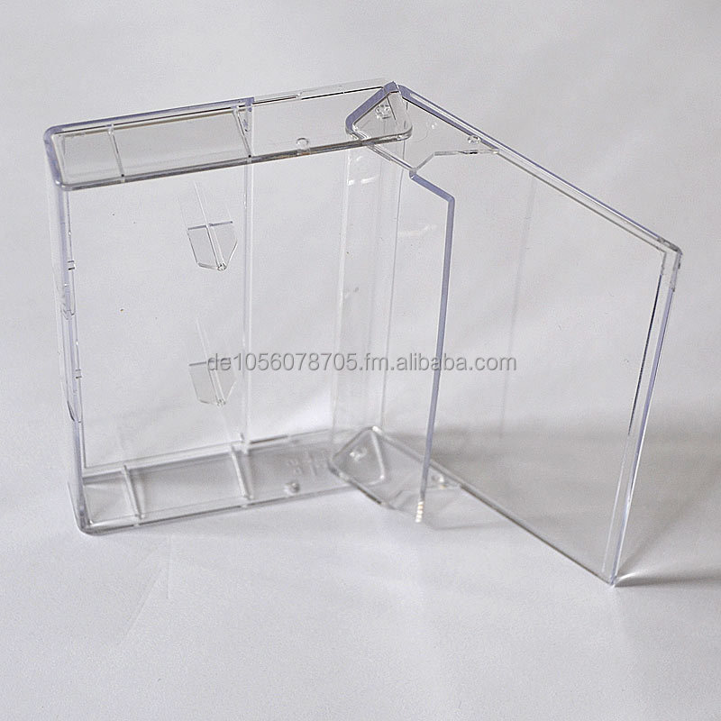 Cassette Boxes, Norelco MC Audiocassette Cases, high transparent. All colors possible