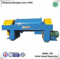 ZDWL-750 Solid Liquid Separation Horizontal Decanter Centrifuge