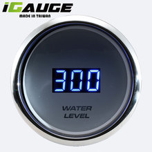Electronic LED Electrical Water Digital Level Meter For Motorcycle