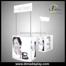 DM PVC food demo tables,Promo booth for promotion