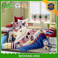 mouse cute cartoon design cartoon baby sheet/children bedsheet/cover bed for kids
