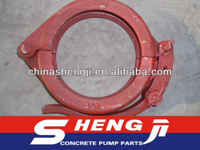 "DN125(5.5"") concrete pump one touch clamp for KCP"