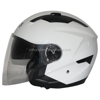 HLS / ZPF Brand,Safety Protection Half face helmet with Double Visor,Europea Homologation Standard
