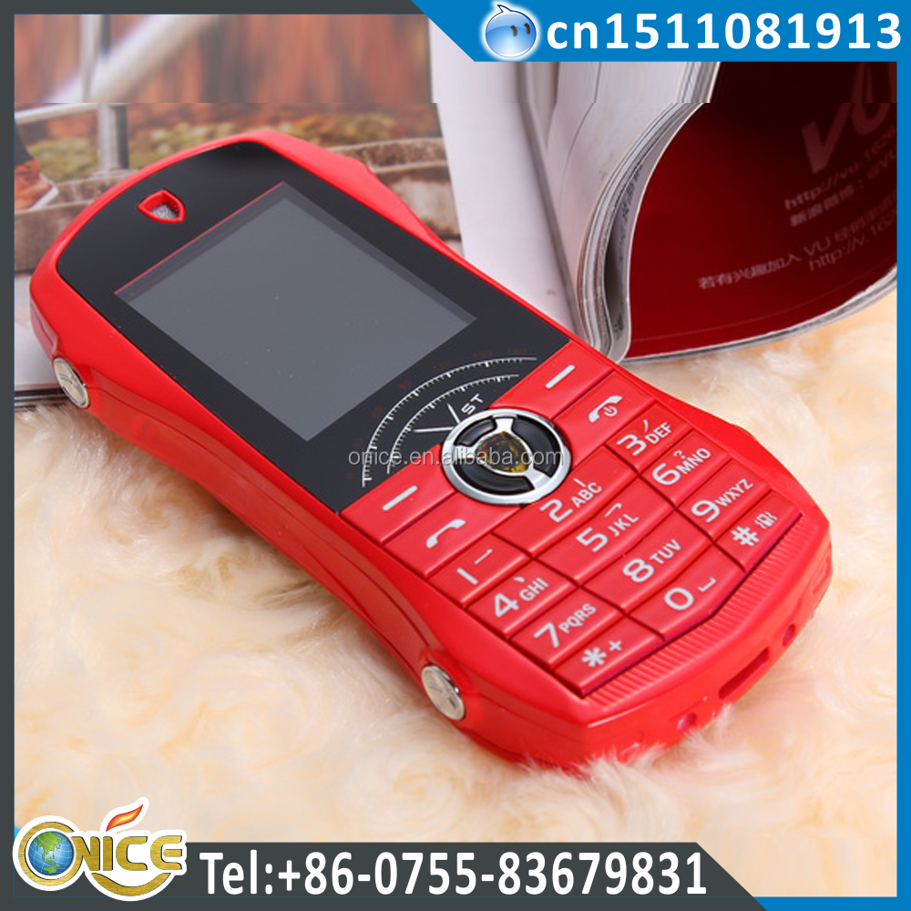 A11 1.77 inch dual sim card standby different shape gm porsche car shape mobile phone with camera bluetooth MP3