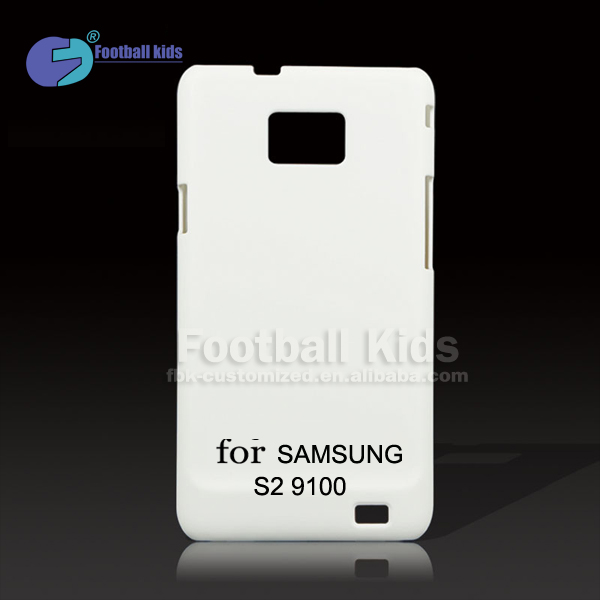 3D Sublimation White Blank Mobile Phone Case Heat Transfer Printing Cover For Samsung Galaxy S2,For Samsung Galaxy S2 9100 Matte
