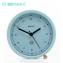 2018 New Products Real Concrete Decorative Desk Table Desktop Clock