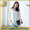 modest long sleeve o neck dry fit t shirt wholesale high quality fashion casual blank white tight t shirts