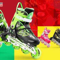 Children Adjustable Inline Skates Figure Skates