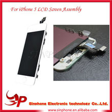 Accept PayPal For Apple iphone 5 lcd full assembly LCD Digitizer