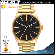 Good Product Colorful water resistant watch 30m japan movt quartz watch stainless steel bezel