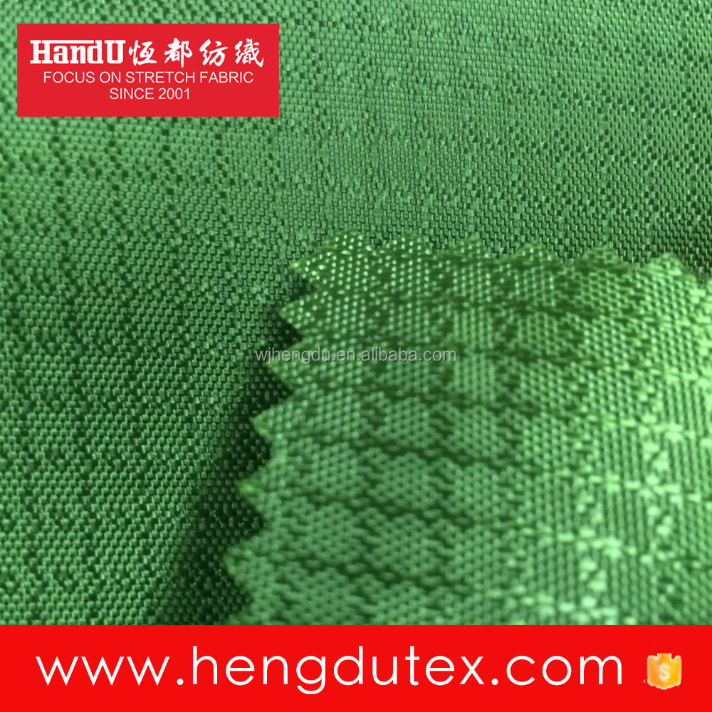PU Coating Waterproof 300D Polyester Jacquard Oxford fabric for bag