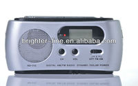 Dynamo Rechargeable Radio with Flashlight And Mobile Charger