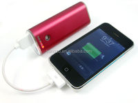 Factory USB real 5400mah portable power bank & mobile charger for blackberry, Nokia, Android