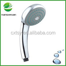 Bathroom shower parts single function shower head hand showers