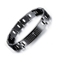 2017 Factory Wholesale Cross Style Stainless Steel Bracelets For Men